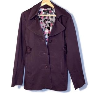 Sandro Sportswear Jacket (Women's M)- Plum Purple